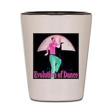 Evolution of Dance Shot Glass