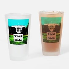 White House Yard Sale Drinking Glass