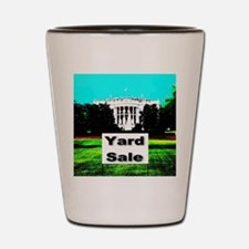 White House Yard Sale Shot Glass