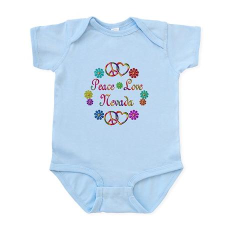 Peace Love Nevada Infant Bodysuit