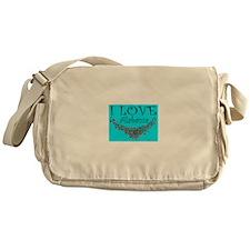 I Love Alabama Messenger Bag