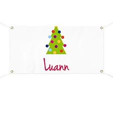 Christmas Tree Luann Banner