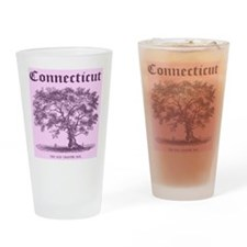 The Old Charter Oak Drinking Glass