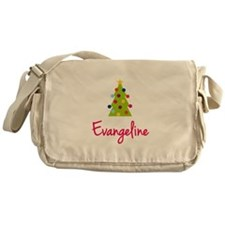 Christmas Tree Evangeline Messenger Bag