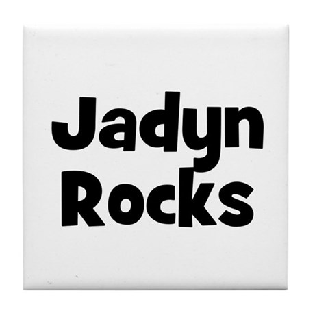 Jadyn Rocks Tile Coaster