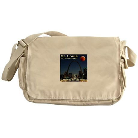 St. Louis Gateway To The West Messenger Bag