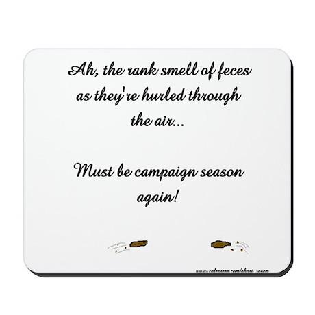 Hurling feces Mousepad