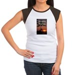 Atlanta Nights Women's Cap Sleeve T w/ Blurb