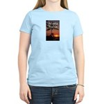 Atlanta Nights Women's Pink T w/ Blurb on Back