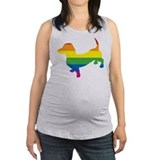 Gay pride Maternity Tank Top