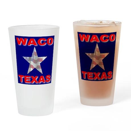 Waco Texas Drinking Glass