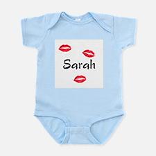 Sarah kisses Infant Bodysuit