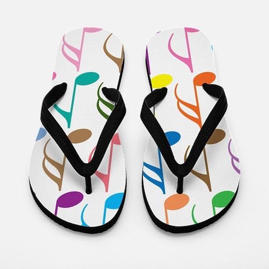 Cute Colorful Flip Flops