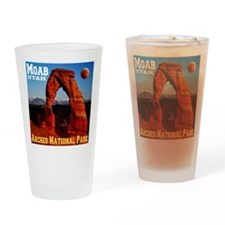 Moab, UT Drinking Glass