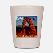 Moab, UT Shot Glass