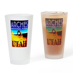 Arches National Park, Utah Drinking Glass