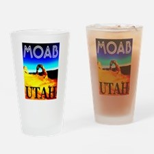 Moab, Utah Drinking Glass