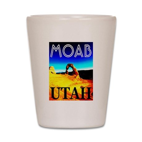 Moab, Utah Shot Glass