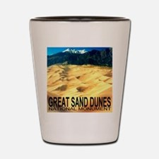 Great Sand Dunes National Mon Shot Glass