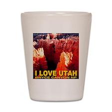 I Love Utah Bryce Canyon NP Shot Glass