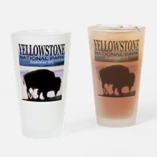 Yellowstone National Park Est Drinking Glass
