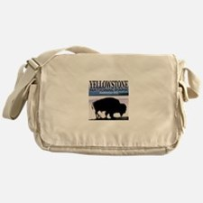 Yellowstone National Park Est Messenger Bag