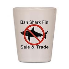 Ban Shark Fin Sale & Trade Shot Glass