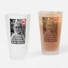 Is Growing Old A Crime? Drinking Glass