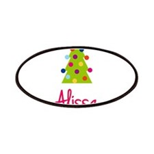 Christmas Tree Alissa Patches