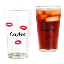 Kaylee kisses Drinking Glass