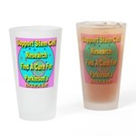 Support Stem Cell Research Drinking Glass