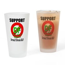 Support DF Dermal Fibrosis R& Drinking Glass