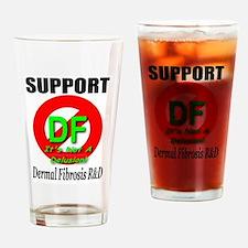 Support DF Dermal Fibrosis R& Drinking Glass