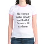 Carbon Life Jr. Ringer T-Shirt