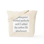 Carbon Life Tote Bag