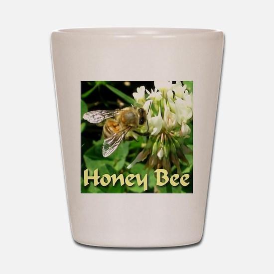 Honey Bee Shot Glass