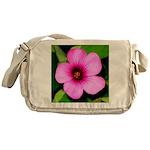 Glorious Violet Wood Sorrel Messenger Bag