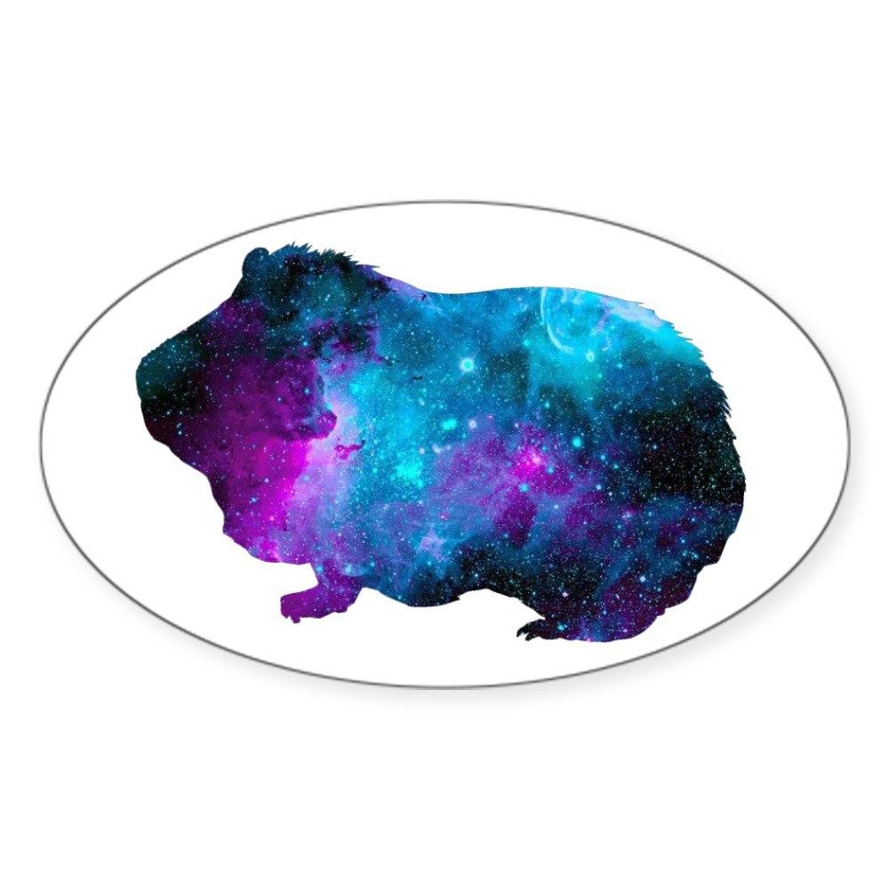 Oval 60164768 CafePress Galactic Guinea Pig Sticker Sticker
