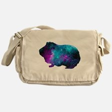 Galactic Guinea Pig Messenger Bag