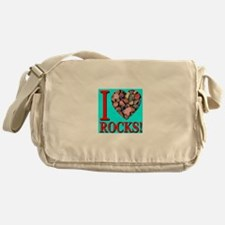 I Love Rocks! Messenger Bag