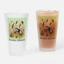 Beetle Mania Drinking Glass
