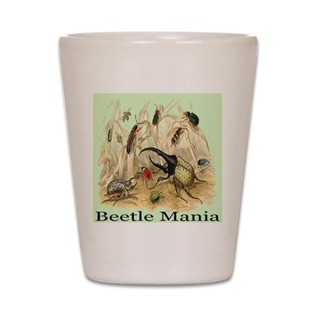 Beetle Mania Shot Glass