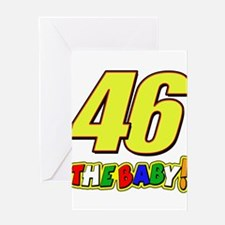 VR46baby Greeting Card