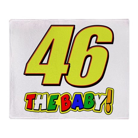 VR46baby Throw Blanket