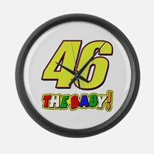 VR46baby Large Wall Clock