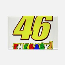 VR46baby Rectangle Magnet