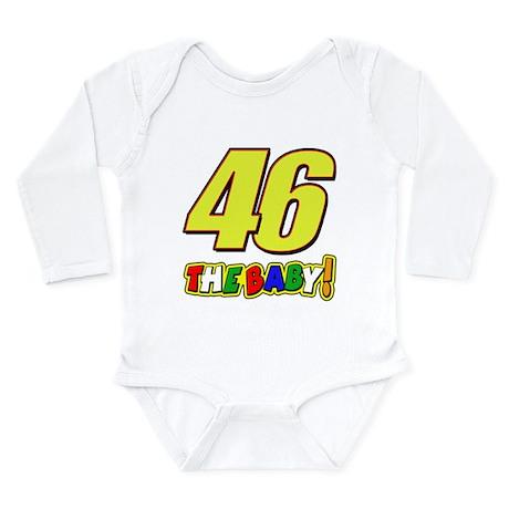 VR46baby Long Sleeve Infant Bodysuit