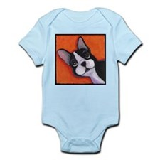 Boston Terrier Infant Creeper
