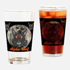 Alpah Wolf Drinking Glass