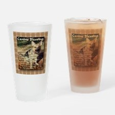 Canine Blessing Drinking Glass
